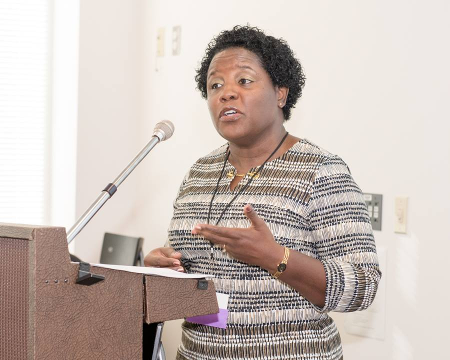 Karlene Sinclair-Robinson  Keynote Address at  Northern VA Women's Business Center 'Collecting Change' Conference.